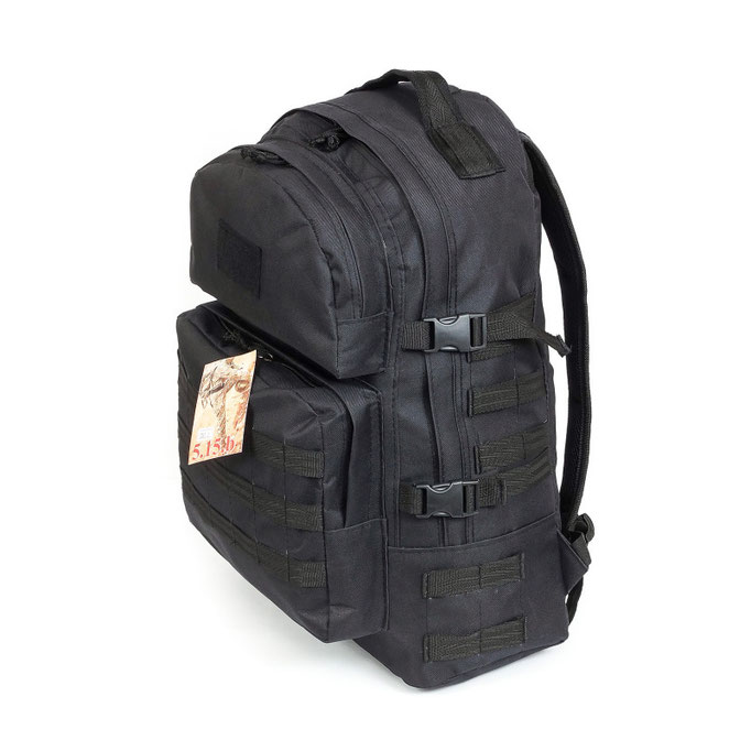 Subject photography for catalogs - tactical backpacks