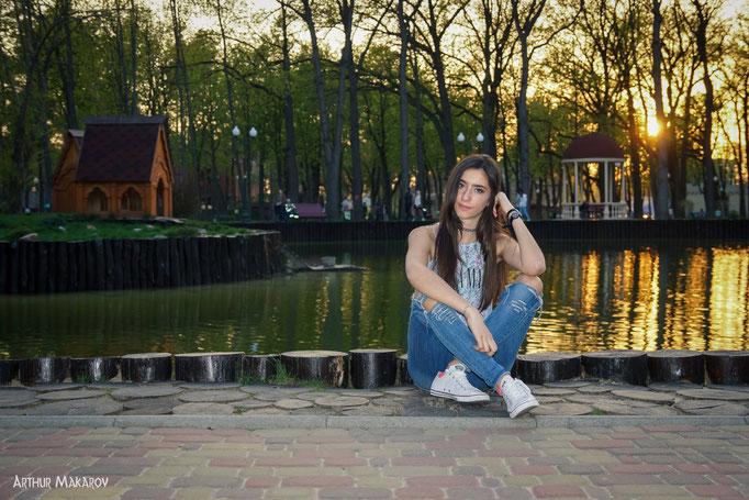 фотосессия в парке Горького в Харькове