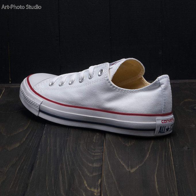 спортивная обувь converse  - фотосъемка для каталога