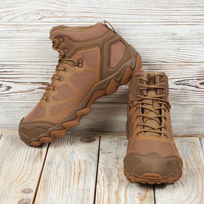 обувь для путешествий - легкие тактические ботинки