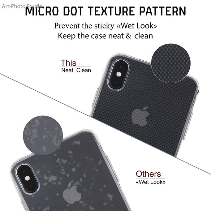 example infographic for listing on amazon - iphone case