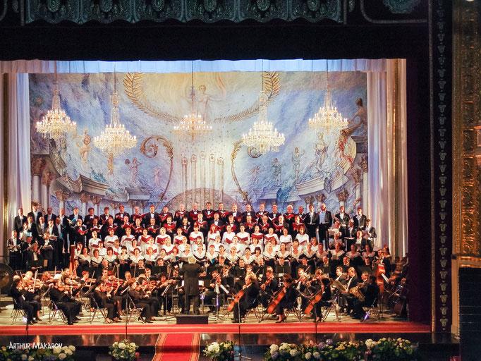репортажная съемка - открытие театра оперы и балета в Одессе