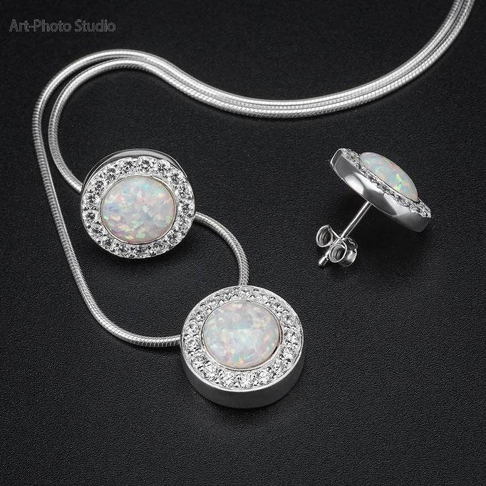 фотосъемка ювелирных украшений из серебра в Харькове