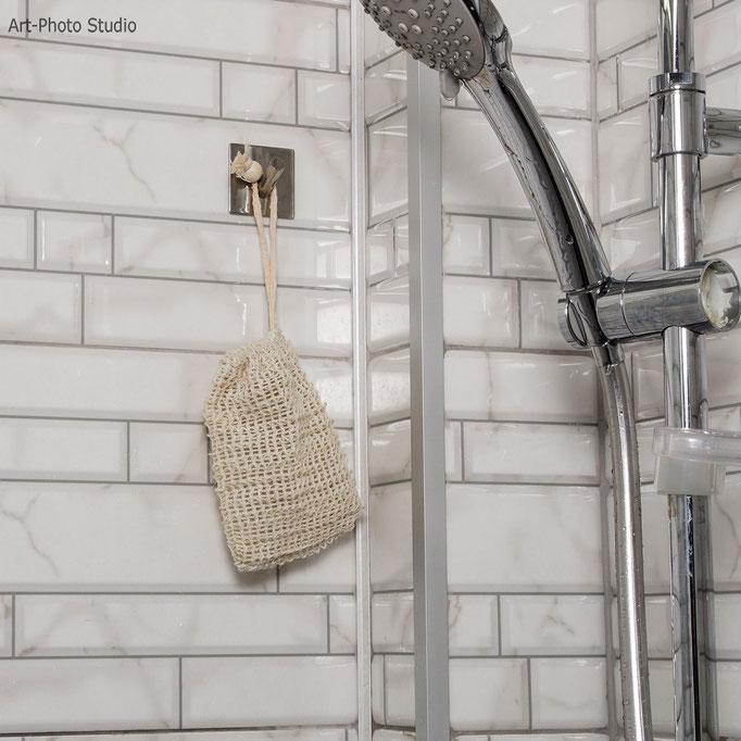 мешочек для мыла - фото в интерьере - съемка для Amazon