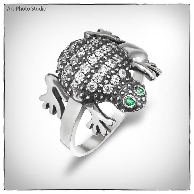 ювелирные изделия из серебра - кольца