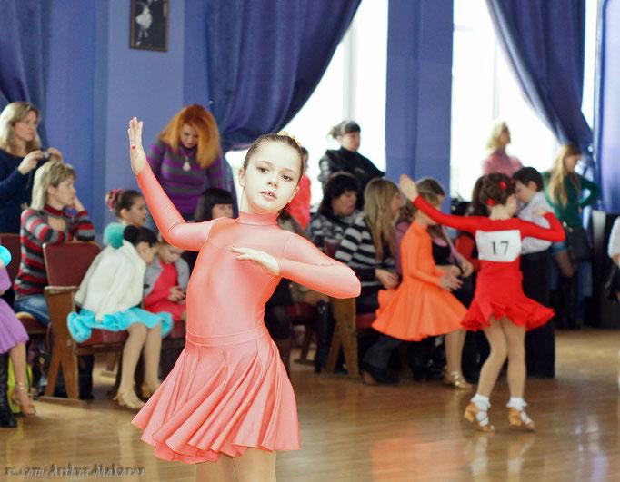 репортажная фотосъемка - детский танцевальный конкурс