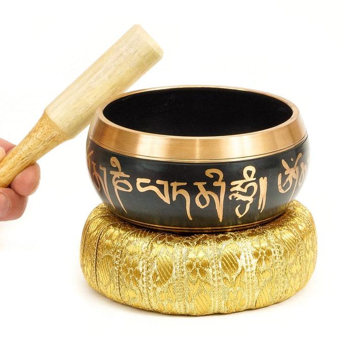предметное фото тибетской поющей чаши - фотосъемка в Харькове
