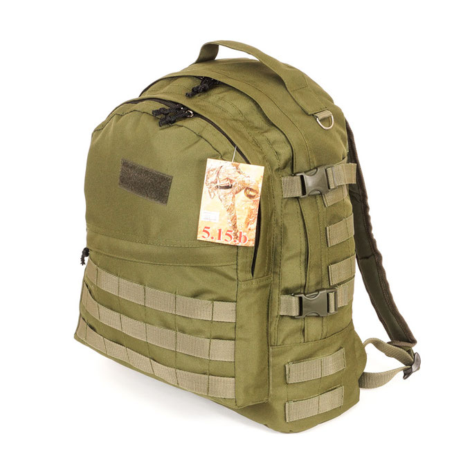 предметная съемка товаров для каталогов - армейские рюкзаки