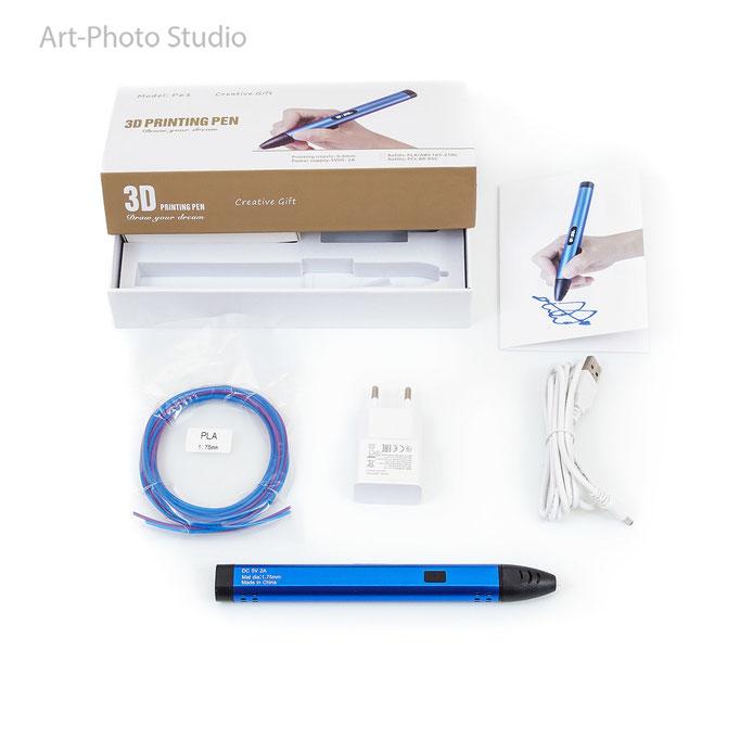 Предметная съемка 3D ручки в Харькове для Амазон