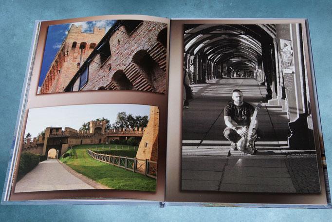 портретный фотоальбом - разворот фотокниги