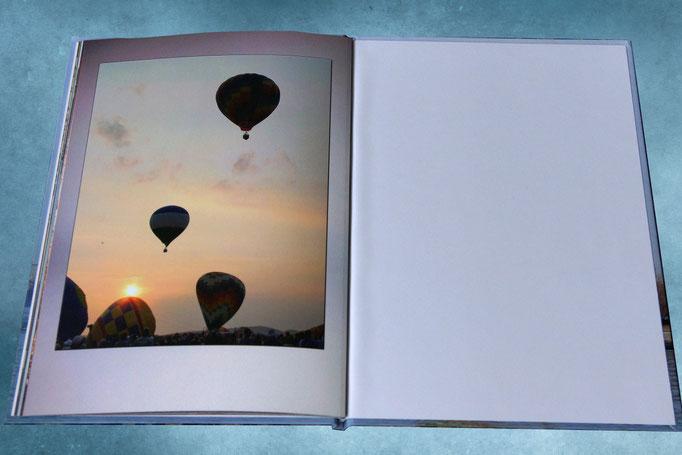 подарочный фотоальбом путешествий- разворот фотокниги