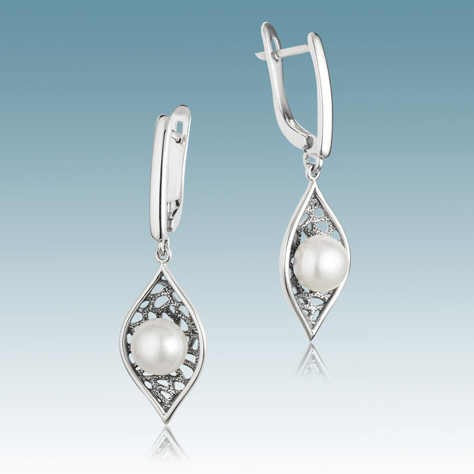 ювелирные изделия в Харькове - серебряные серьги