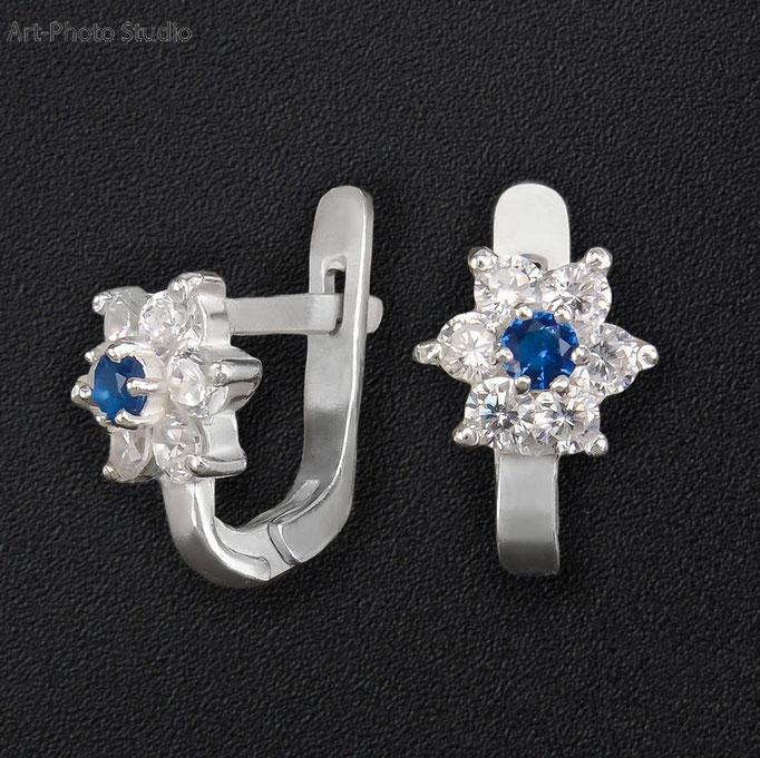 предметная съемка ювелирных украшений из серебра в Харькове
