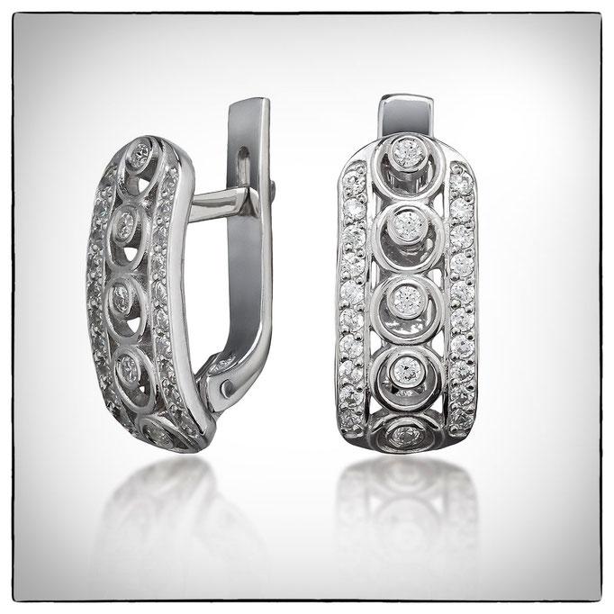 ювелирные изделия в Харькове - серьги из серебра