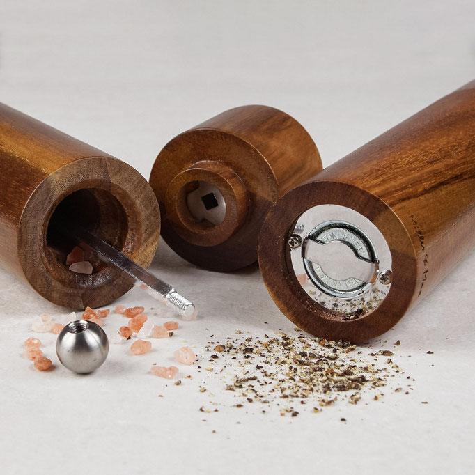 фотосъемка для Амазон - мельницы для измельчения соли и перца