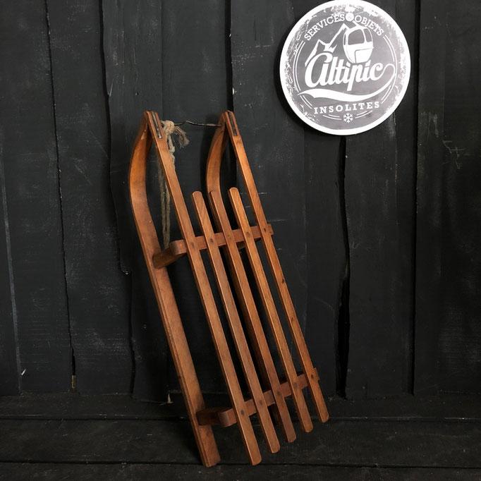 luge bois vintage altipic ref020 RESERVE