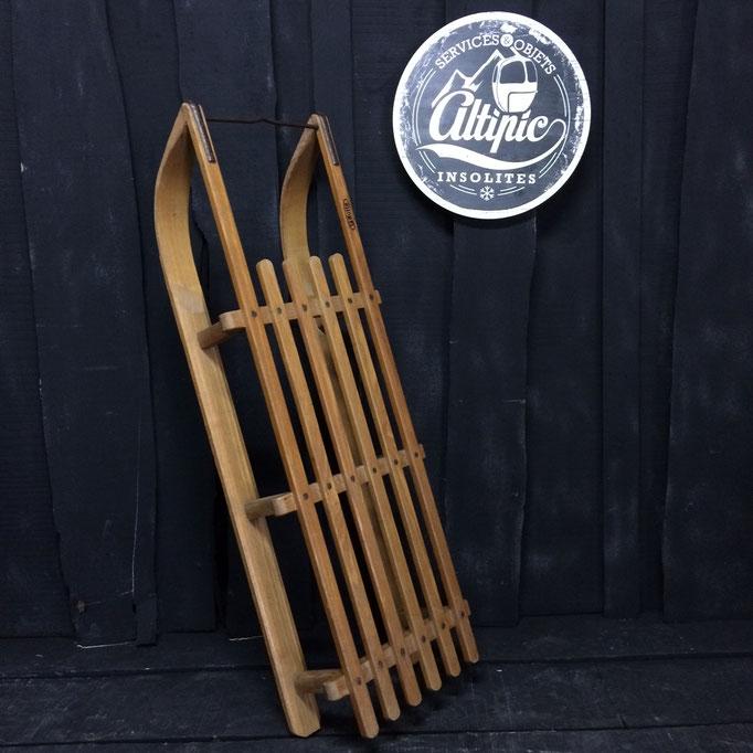 luge bois vintage altipic ref006  RESERVE