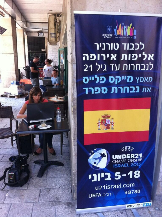 Europeo Sub21 - Israel - Junio 2013