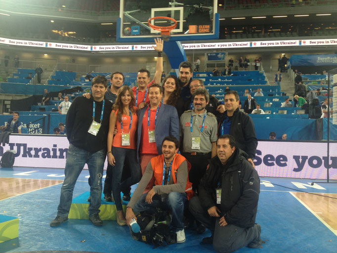 Equipazo de Mediaset en el Eurobasket - Eslovenia 2013