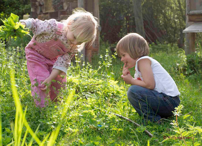 Gärtnerinnen unter sich - Foto: Wolfgang Ewert