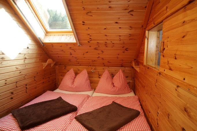 Fewo Talblick - kleines Schlafzimmer für 2 Personen