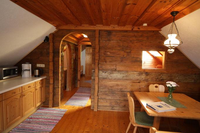 Fewo Talblick - Wohnküche