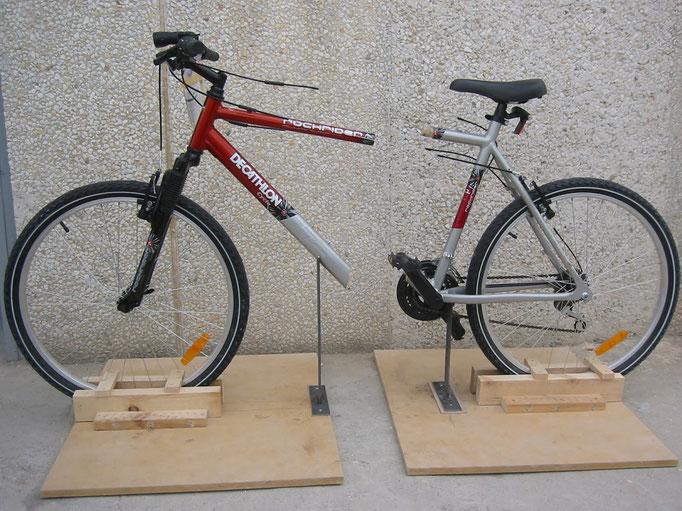 bicicleta cortada