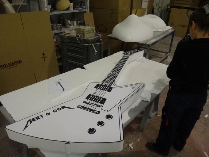 guitarra photocall