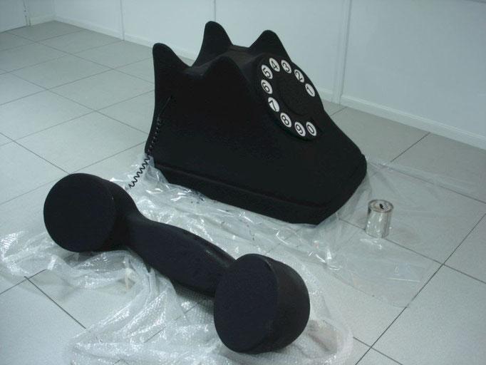 Teléfono GIgante, modelo antiguo