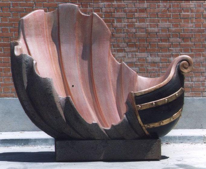 Carra de Barco-Concha, para escenografía teatro