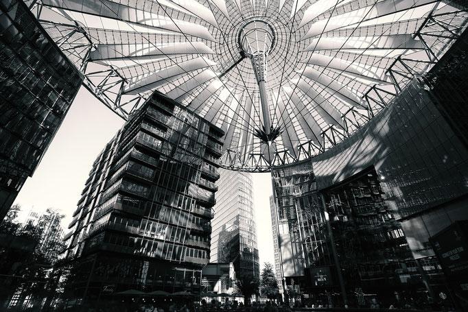 Sony Center am Potsdamer Platz in Berlin