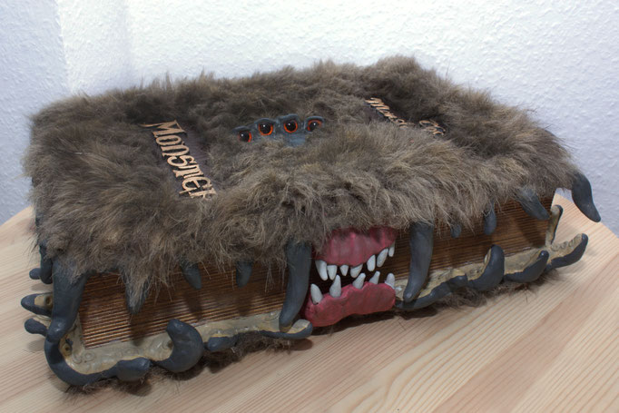 "The Monster Book of Monsters from ""Warner Bros Harry Potter and the Prizoner of Azkaban"" -Replica (One piece made for personal use)"