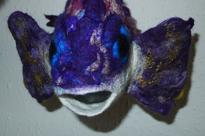 Felted fish Balthasar