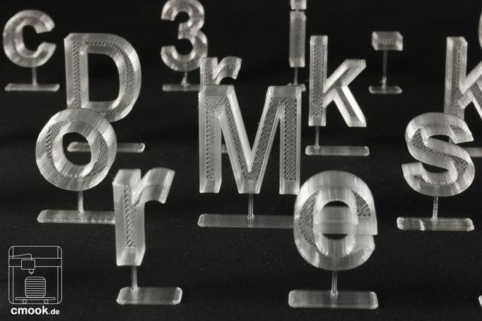 2D - in 3D-Druck
