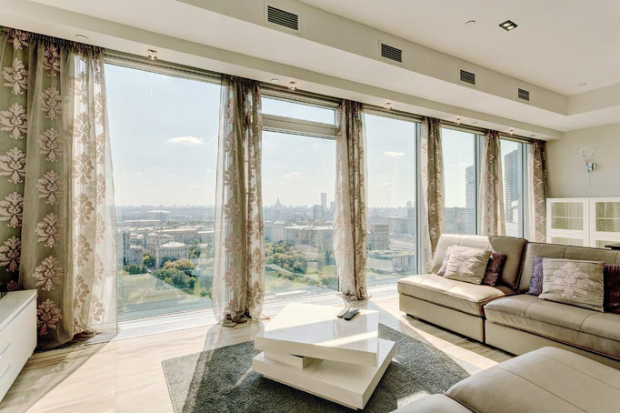 "ID S33 Москва-Сити башня ""Санкт-Петербург"" - престижный апартамент в аренду посуточно!"