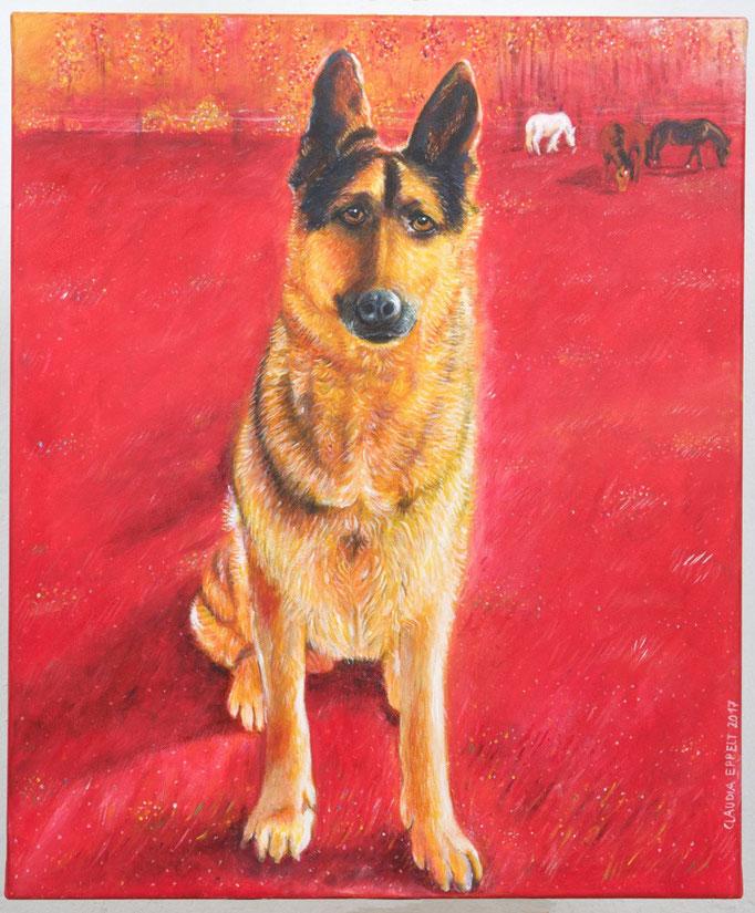 50 x 70 cm - Acryl auf Leinwand