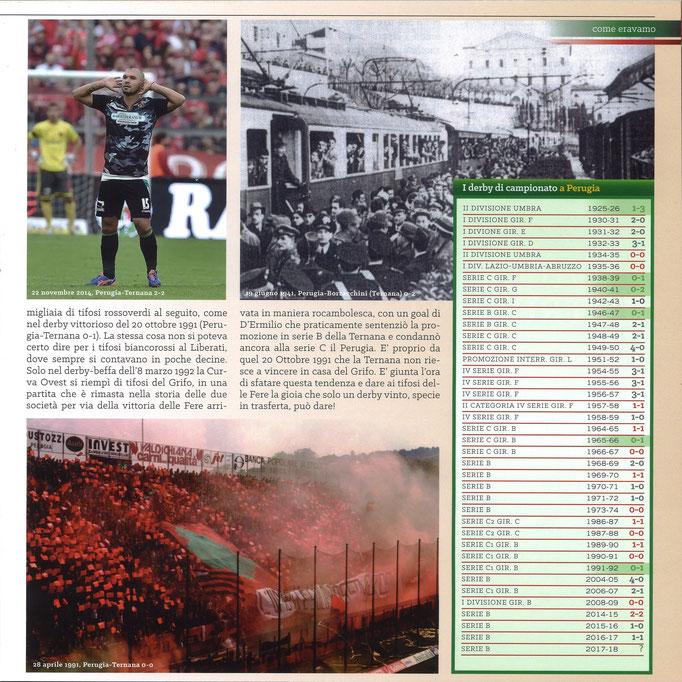 2018-04-21. DAJE MO'! Il mio articolo dedicato alla storia dei derby contro il Perugia (Parte 2)