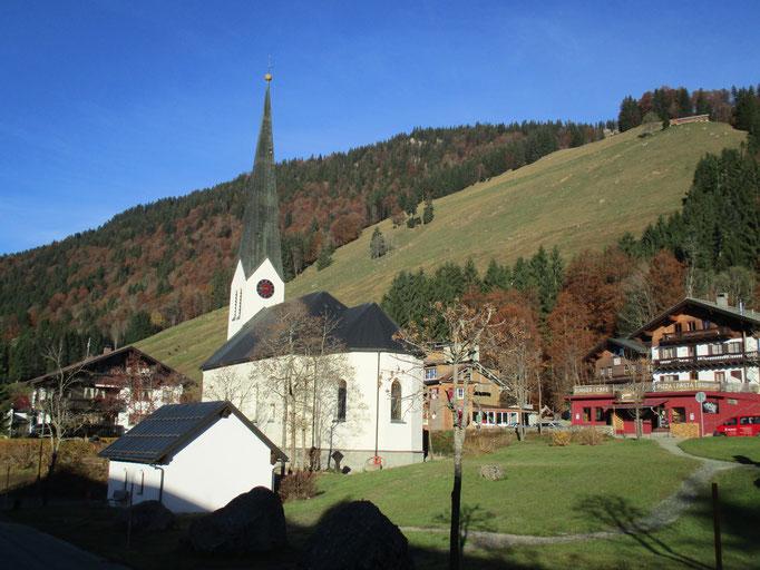 Pfarrkirche in Balderschwang