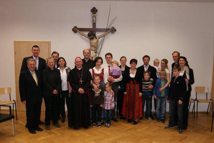 Ausbildungslehrgang Der Liebe dienen - Neuhofen an der Ybbs - Sendungsfeier