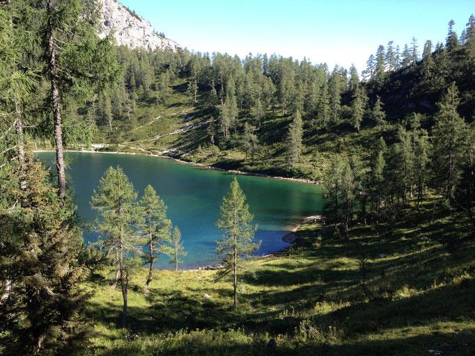 Schwarzsee, Ferienwohnung Wörschachwald (bei Tauplitz, Bad Mitterndorf, Steiermark Salzkammergut)