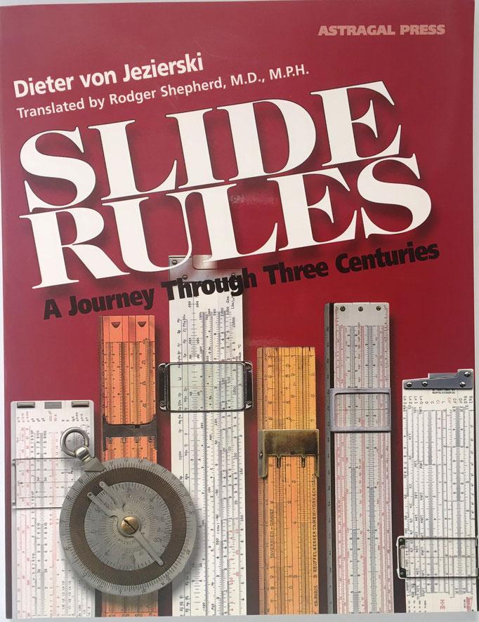 Slides Rules, Dieter von Jezierski, 126 páginas, año 2000, 28x21 cm