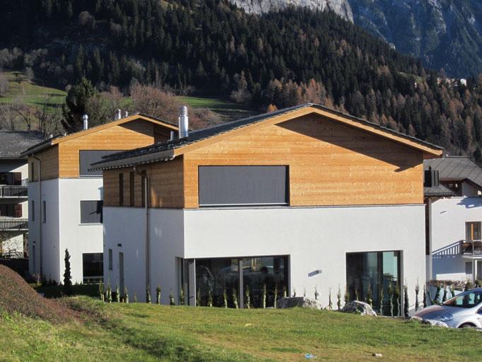 Neubau EFH und ZFH Flims
