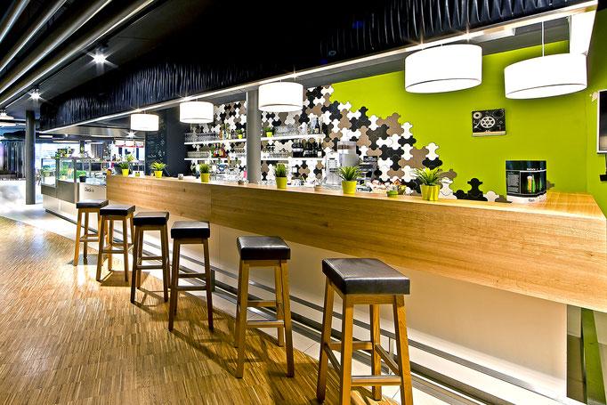 Ausbau Restaurant Tissot Velodrome Restaurant Grenchen