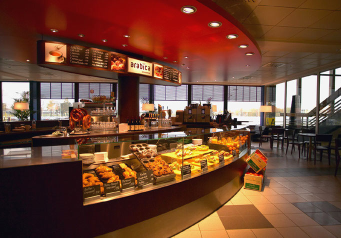 Arabica Flughafen Berlin Schönefeld