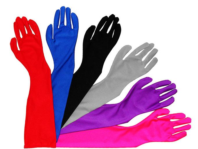 Handschuhe lang in Größen