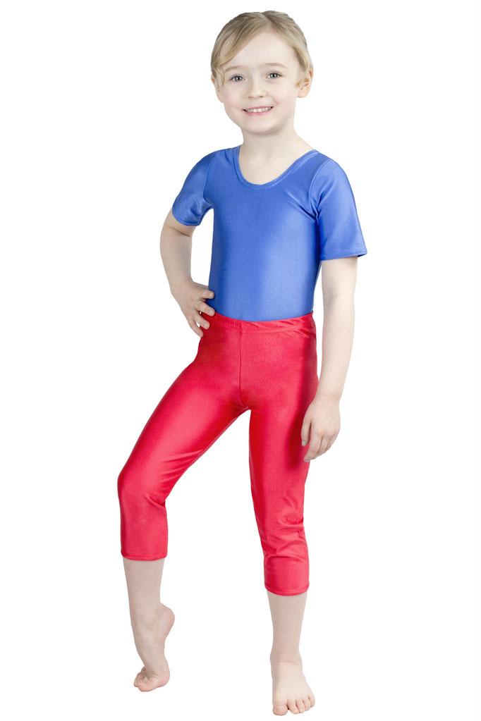 ML-Sport24 Kinder Caprihose Rot