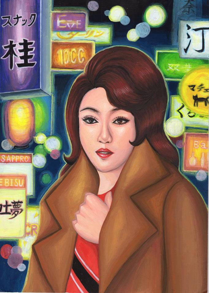 新宿ゴールデン街の女