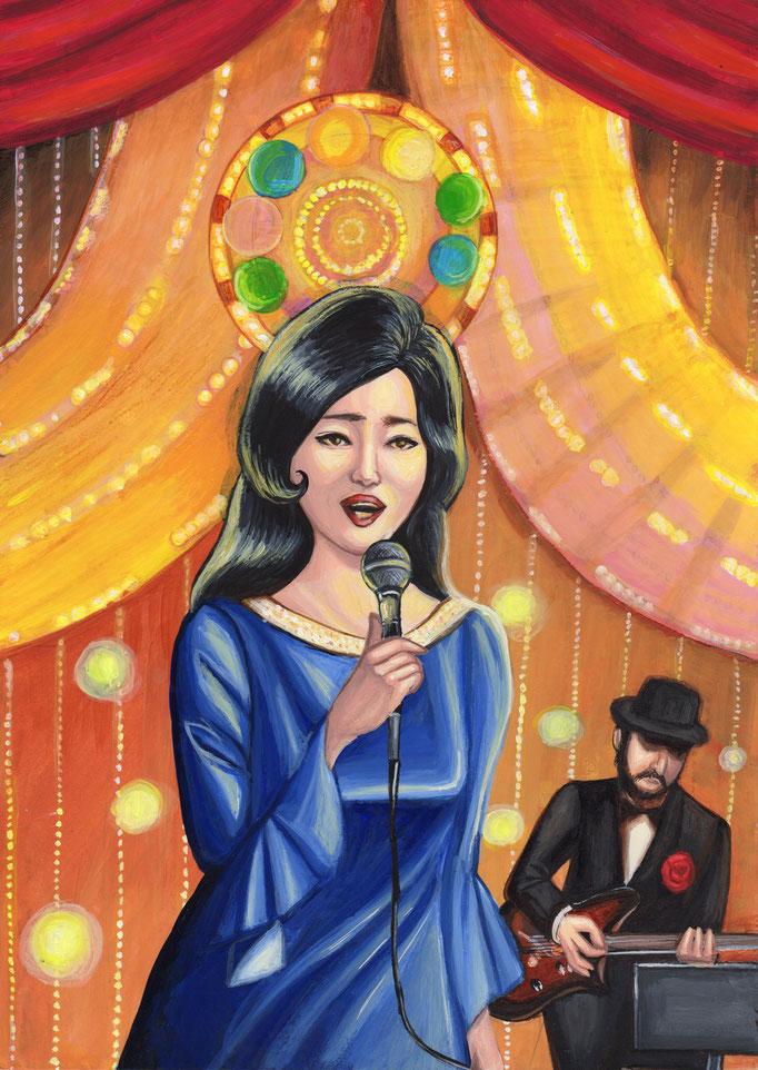 キャバレー歌手