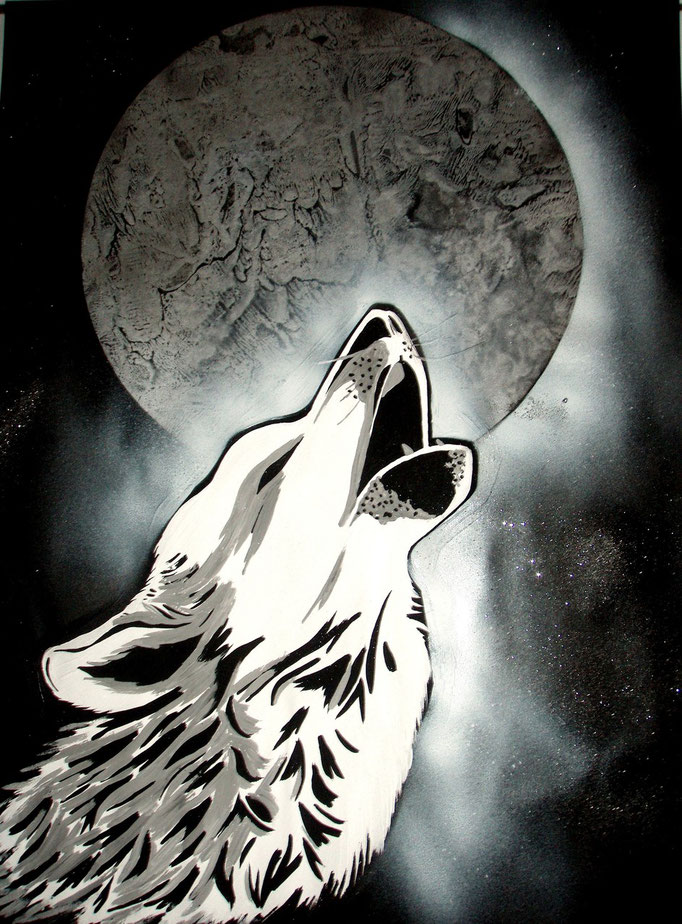 Moon_Spray Art