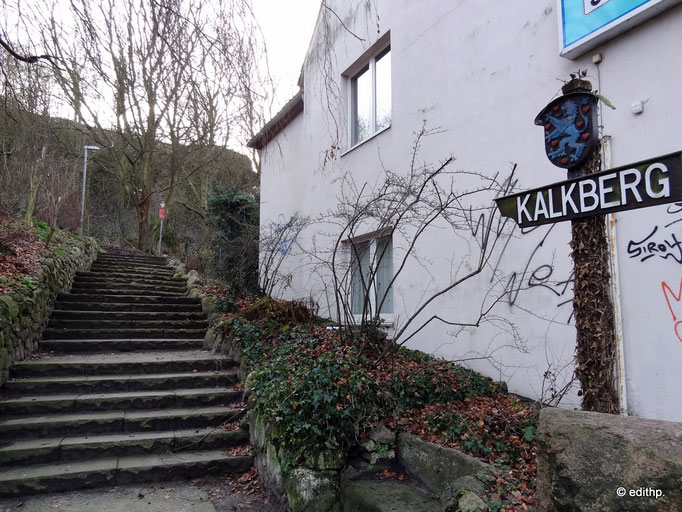 Aufstieg zum Kalkberg